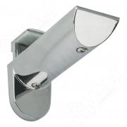 703353 KAIMAN Менсолодержатель для деревянных и стеклянных полок 7 - 41 мм, хром (2 шт.)