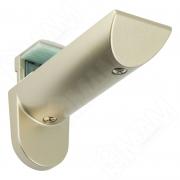 703355 KAIMAN Менсолодержатель для деревянных и стеклянных полок 7 - 41 мм, шампань (2 шт.)