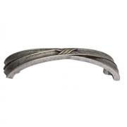 Ручка-скоба 96мм, отделка старое серебро с блеском WMN.611X.096.M00E8