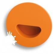 730NA Ручка врезная, цвет оранжевый