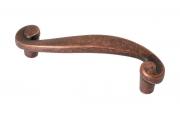 MC 7422/808 Ручка-скоба 64мм, отделка медь античная