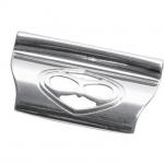 Ручка-скоба 32мм, отделка серебро 9.1340.0032.18