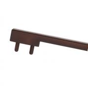 Вставка пластиковая для ручки CH0200-160192.ХХ, отделка коричневая PI.CH0200.0004