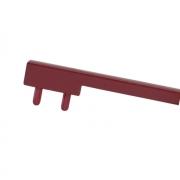 Вставка пластиковая для ручки CH0200-160192.ХХ, отделка красная PI.CH0200.0003
