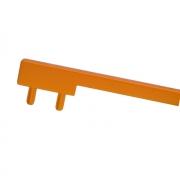 Вставка пластиковая для ручки CH0200-160192.ХХ, отделка оранжевая PI.CH0200.0001