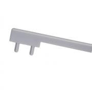 Вставка пластиковая для ручки CH0200-160192.ХХ, отделка светло-серая под покраску PI.CH0200.0000