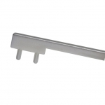 Вставка пластиковая для ручки CH0200-160192.ХХ, отделка серебристая PI.CH0200.0005