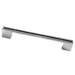 Ручка-скоба 160-192 мм, отделка хром глянец, под вставку CH0200-160192.PC