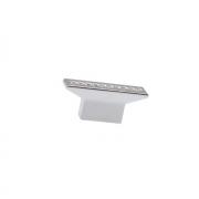 Ручка-кнопка 16мм, отделка хром глянец + горный хрусталь CH0102-016.PC