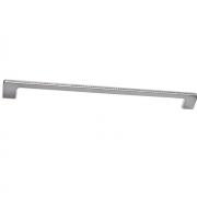 Ручка-скоба 320мм, отделка хром глянец + горный хрусталь CH0102-320.PC