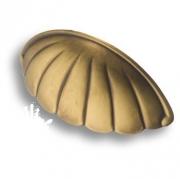 7476.0064.001 Ручка раковина, античная бронза 64 мм