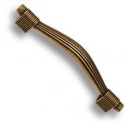 7492-831 Ручка скоба, старая бронза 96 мм
