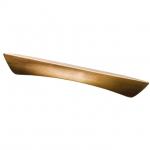 Ручка-скоба 160мм, отделка медь шлифованная (с винтами M4x12) C2749-160.AE.28
