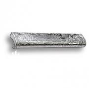 7693.0168.071.173 Ручка скоба, серебряная кожа с растительным орнаментом