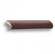 7693.0168.071.176 Ручка скоба, коричневая кожа 64 мм