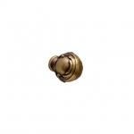 Ручка-кнопка, отделка бронза античная французская 25.694.B25