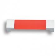7777.0096.021.244 Ручка скоба детская, цвет красный 96 мм