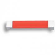 7777.0128.021.244 Ручка скоба детская, цвет красный 128 мм