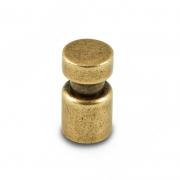 WPO.785.000.00D1 Ручка-кнопка D15мм бронза состаренная
