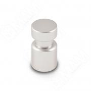 WPO.785.000.00R3 Ручка-кнопка D15мм серебро Ноттингем