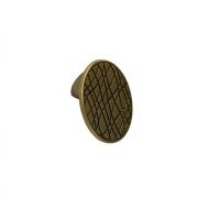 Ручка-кнопка 32мм, отделка бронза античная французская 10.822.B25