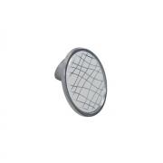 Ручка-кнопка 32мм, отделка хром глянец + вставка 10.823.B40-109