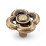 WPO.792.036.00D1 Ручка-кнопка бронза состаренная