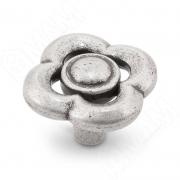 WPO.792.036.00E8 Ручка-кнопка серебро состаренное