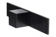 SY7932 0016 AL6-AL6 Ручка-кнопка, отделка черный матовый
