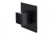 SY7940 0016 AL6-AL6 Ручка-кнопка, отделка черный матовый