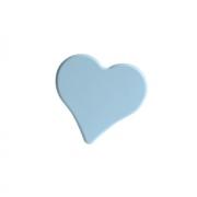 Ручка-кнопка 32 мм, отделка голубая 0085CE164CV