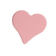 Ручка-кнопка 32 мм, отделка розовая 0086RO153CV