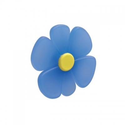 Ручка-кнопка 32 мм, отделка синяя 0932AZTRC1