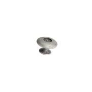 Ручка-кнопка, отделка серебро античное 10.747.B17