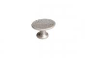 WPO.799Y.000.M00E8 Ручка-кнопка, отделка старое серебро с блеском