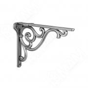 WRM.800.150.00AN ROME Менсолодержатель для деревянных полок L-150 мм, серебро состаренное