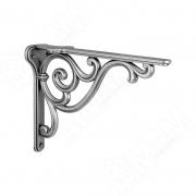 WRM.800.200.00AN ROME Менсолодержатель для деревянных полок L-200 мм, серебро состаренное