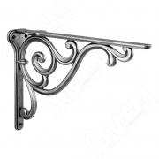 WRM.800.250.00AN ROME Менсолодержатель для деревянных полок L-250 мм, серебро состаренное