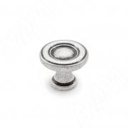 WPO.811.025.00E8 Ручка-кнопка D25мм серебро состаренное