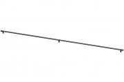8.1149.1172.0252-0252 Ручка-скоба 1172мм, отделка черный матовый