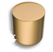 8161-200 Ручка кнопка, матовое золото