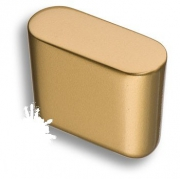 8171-200 Ручка кнопка, матовое золото