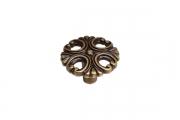 """WPO.821Y.000.M00D1 Ручка-кнопка, отделка бронза античная """"Флоренция"""""""