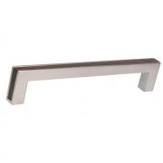 Ручка-скоба FRAME 160мм, отделка венге + сталь нержавеющая 517760160-66/053948