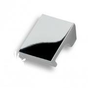 8250 0016 CR Ручка кнопка глянцевый хром 16 мм