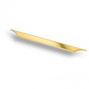8254 0320 GL Ручка скоба, глянцевое золото 320 мм