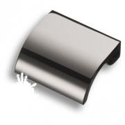 8257 0016 CR Ручка кнопка, глянцевый хром 16 мм