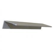Ручка-скоба 192мм, отделка алюминий 7661/021