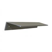 Ручка-скоба 96мм, отделка алюминий 7662/021