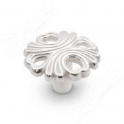 WPO.829.000.00M5 Ручка-кнопка серебро Венецианское